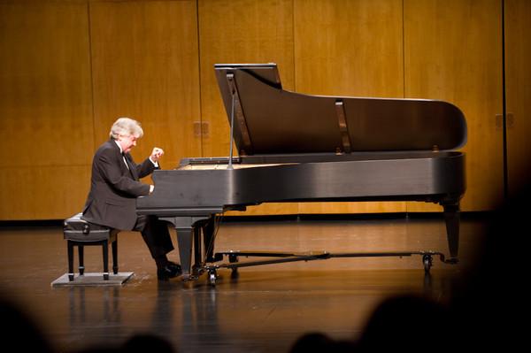 Bryan Boyce Piano recital on newly renovated grand piano.