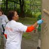 Buffalo State College faculty and staff volunteers participating in United Way Day of Caring.