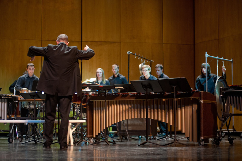 Concert featuring Percussion Ensemble, dancers and African Drummers.