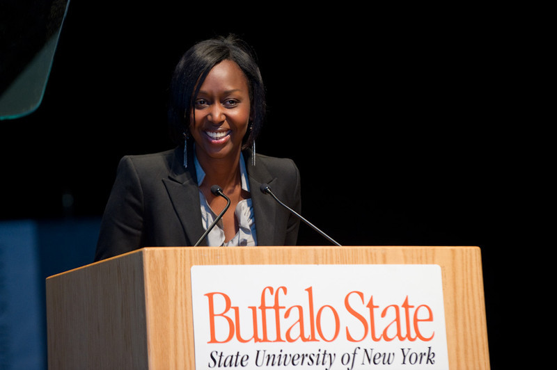 2010 Academic Convocation with keynote speaker Immaculee Ilibagiza.