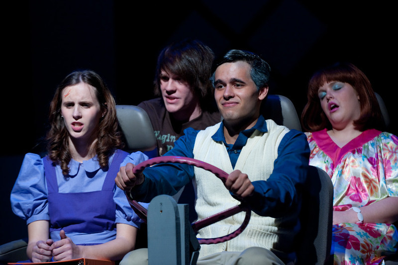 Student Theater production of Fuddy Mears.