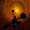 Laser show in Whitwoth Ferguson Planetarium.