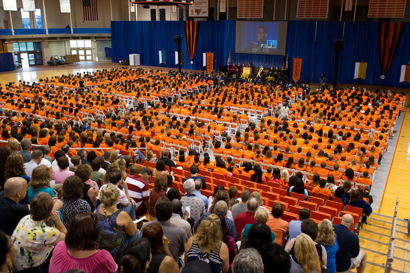 First Year Convocation at Buffalo State College.