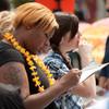 2011 Part time job fair luau presented by the Carreer Develepment Center.