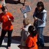 Closing ceremonies of the 2011 Anne Frank Project at Buffalo State College.
