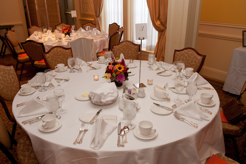 2011 Peterson Society Luncheon at the Buffalo Club.