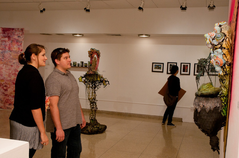Lombardo Awards ceremony in the Czurles-Nelson Gallery.