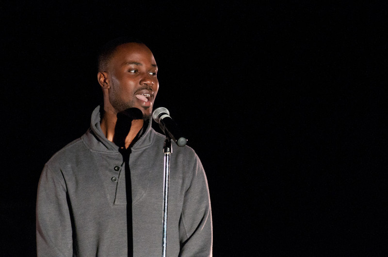 When Brothers Speak a black male Spoken Word showcase.