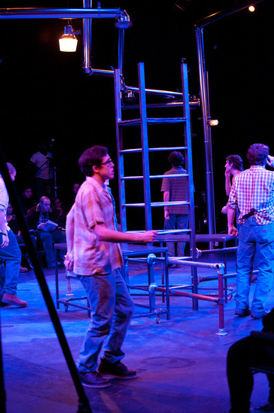 """Theater production of """"Working""""."""