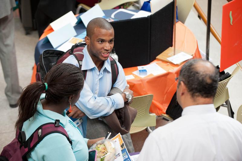 Graduate School Fair at Buffalo State.
