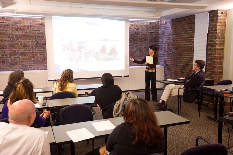 International Student Advisory Council presentations.