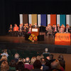 Faculty and staff President's Medal and Chancellor's Award presentation ceremony.
