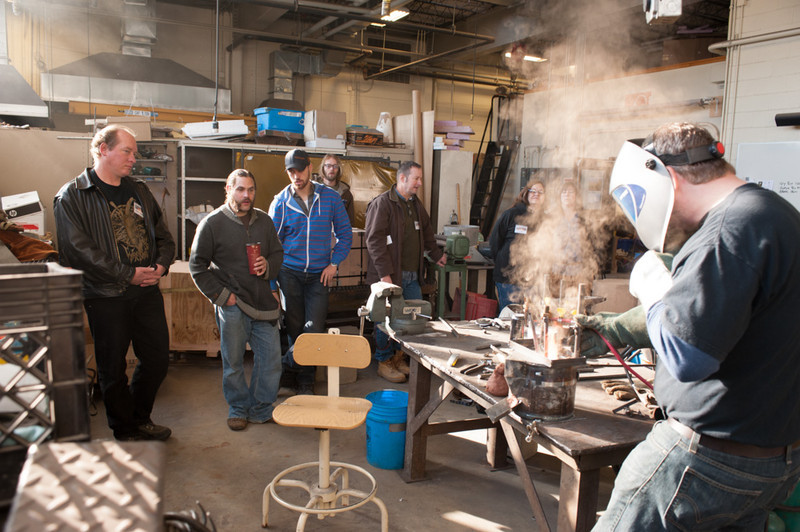 """Nor'easter Conference: Aesthetics and Practice in Cast Iron Art"" held at Buffalo State."