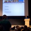 Buffalo Public School Superintendent Pamela Brown speaking at Buffalo State.