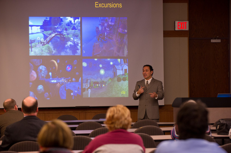 Dr. John Cabra's Emerging Scholars Presentation: The Opportunities and Challenges of Technology Driven Creative Collaborations.