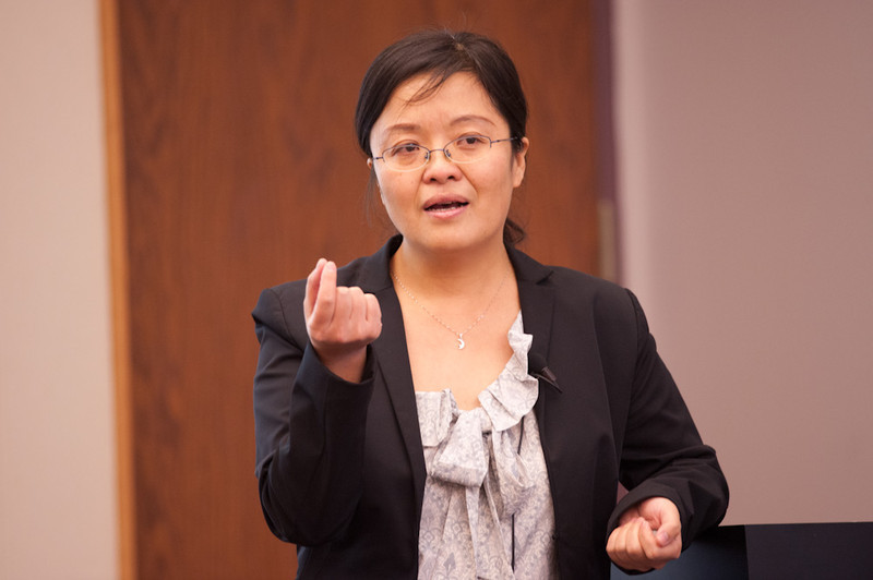 Dr. Jing Zhang's Emerging Scholars Presentation: Implementation and Evaluation of a Chinese Language Family Literacy Program.