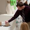 Interior Design student show opening.
