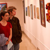 Art Education student show opening.