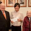 Francis Tyau and Eleanor Blackburn scholarships presentation ceremony.