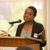 Kenzie Scholars luncheon in Butler Library.