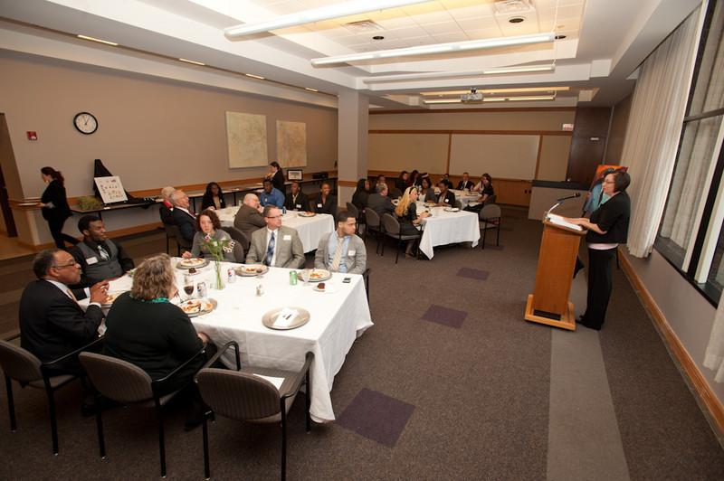 Kenzie Scholars luncheon in Butler Library.