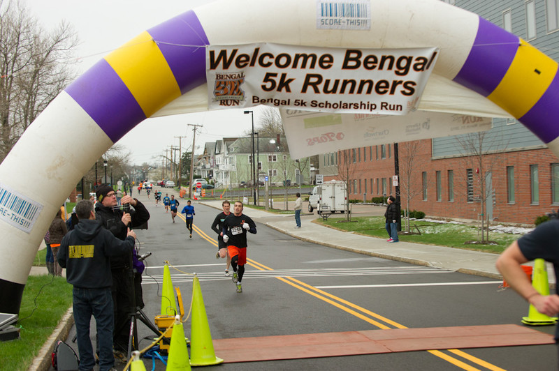 Bengal 5k Run scholarship fundraiser.
