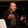 Song writer and performer Bob Dorough lecturing and performing at Buffalo State College.