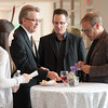 Alton Brown meeting with USG,staff and hospitality students.