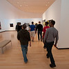 Art Education Peer to Peer Tour of Burchfield-Penney Art Center for Buffalo State College mechanical engineering class.