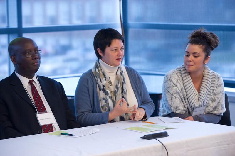 """Cross-Cultural Awareness - Embracing Buffalo State's International Community"" seminar at Burchfield-Penney Art Center."