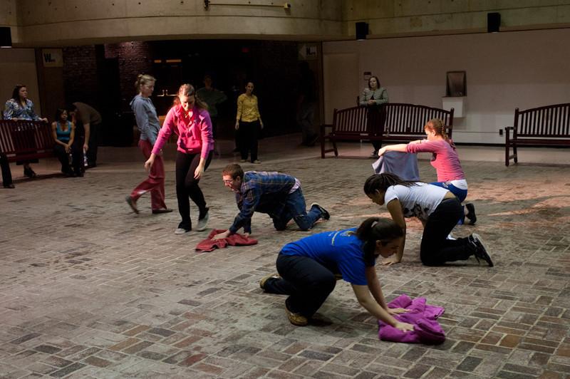 """Alternative Dimensions: A Multi-Sensory Experience"" Buffalo State student dance concert."