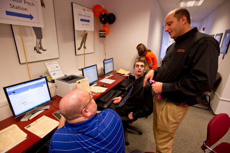 Senior Job Search Day presented by the Career Development Center at Buffalo State.