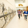 Art Education Peer to Peer Tour of Burchfield-Penney Art Center for Buffalo State College Art Education class.