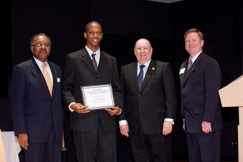 Student Leadership Awards ceremony at Burchfield-Penney Art Center.
