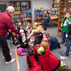 Third graders visiting the Science Building as part of the College Bound Program.