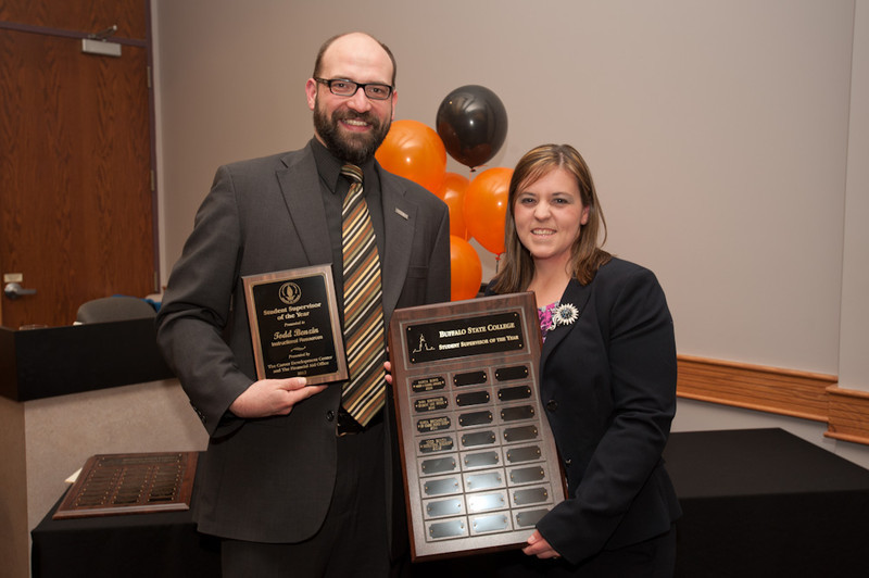 Student employee, supervisor and employer of the year awards.
