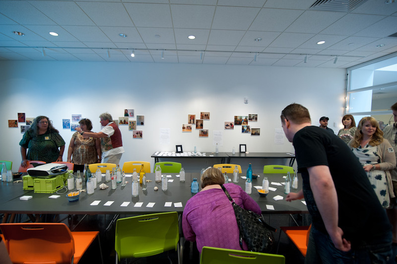 Art education workshop held in the burchfield penney.
