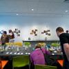 Art education workshop held in the burchfield penney.