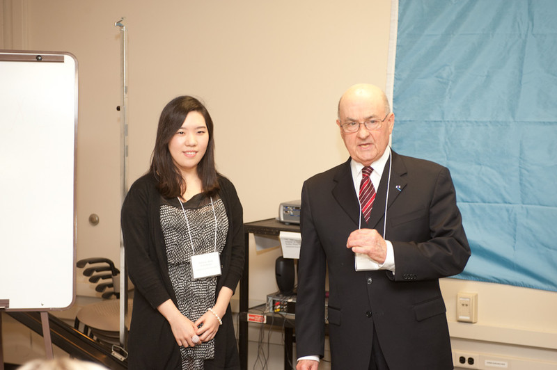 International Student Affairs office graduate recognition ceremony.