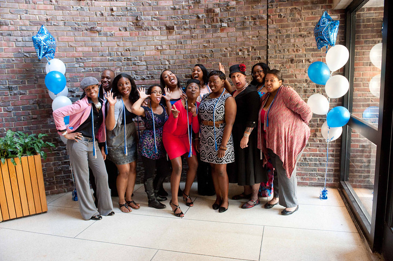 McNair Scholars end of the year luncheon.
