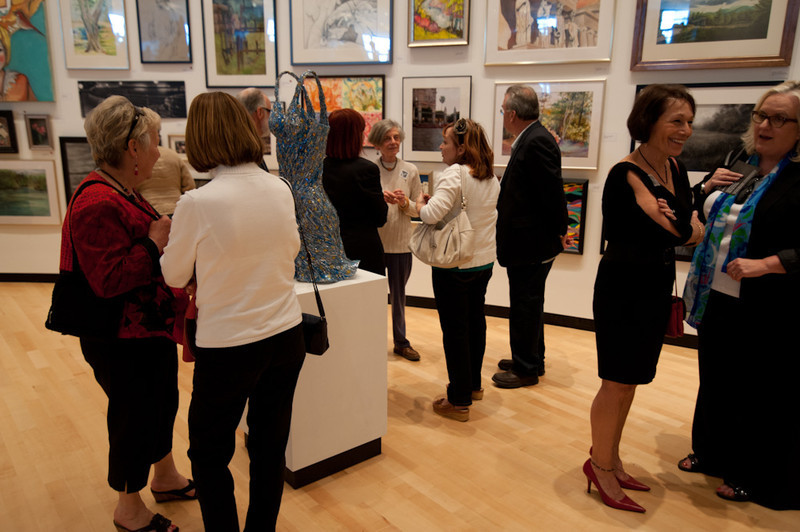 """""""The Artists Among US"""" gallery opening at the Burchfield Penney."""