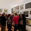 """The Artists Among US"" gallery opening at the Burchfield Penney."