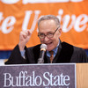 U.S. Senator Charles Schumer speaking at the Undergraduate Commencement at Buffalo State. (10 a.m. ceremony)