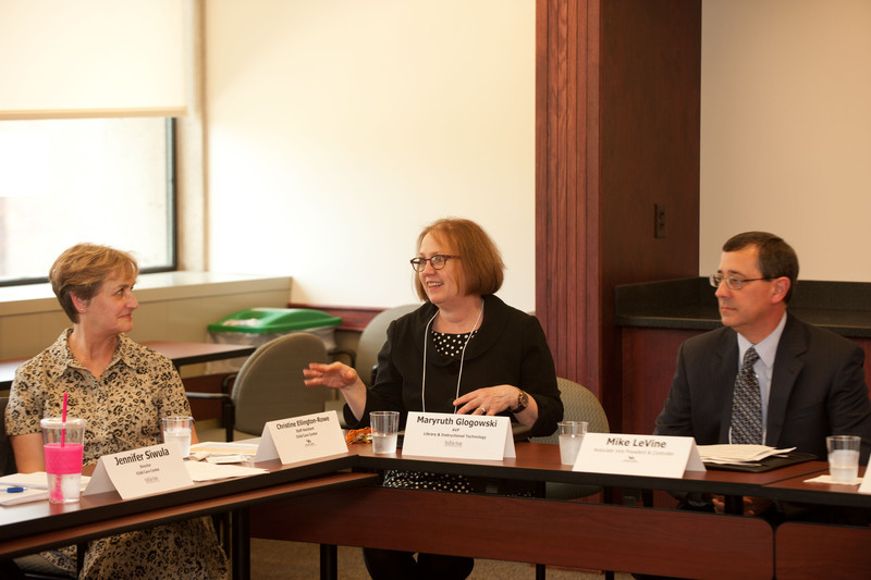 SUNY shared services meeting hosted by Buffalo State.