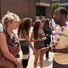 Career Development Center's Job Fair Luau.
