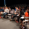 """""""Remind Our Souls"""" presentation by Gail Wells during the Anne Frank Project at Buffalo State."""