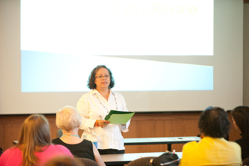 National Coalition Building Institute (NCBI)  session during the Anne Frank Project at Buffalo State.