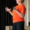 """Walking the Path of Forgiveness"" presentation by Jean Campbell during the Anne Frank Project at Buffalo State."