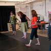 """""""Caesura"""" audience participation dance presentation during the Anne Frank Project at Buffalo State."""