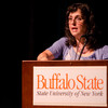 """Respect for Diversity"" presentation by May Shogan during the Anne Frank Project at Buffalo State."